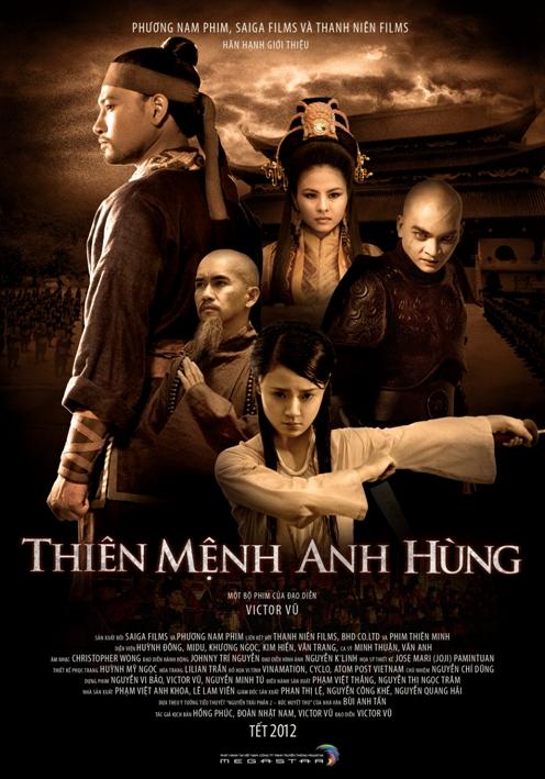 Thiên Mệnh Anh Hùng là một bộ phim hay điện ảnh thuộc thể loại võ hiệp, cổ trang và tâm lý của Việt Nam do đạo diễn Việt kiều Victor Vũ thực hiện