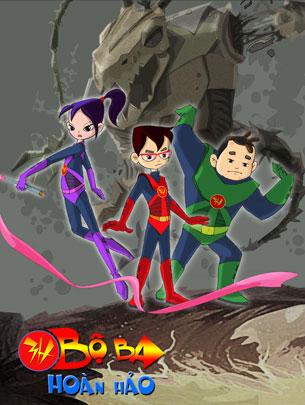 Bộ Ba Hoàn Hảo là bộ phim hoạt hình 3D Việt Nam