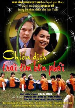 Chiến dịch trái tim bên phải là bộ phim Việt Nam thuộc thể loại hài hước - tâm lý - tình cảm lãng mạn của đạo diễn Đào Duy Phúc